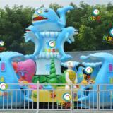 创艺游乐浅谈新型游乐设备公园游乐园必不可少项目激战鲨鱼岛