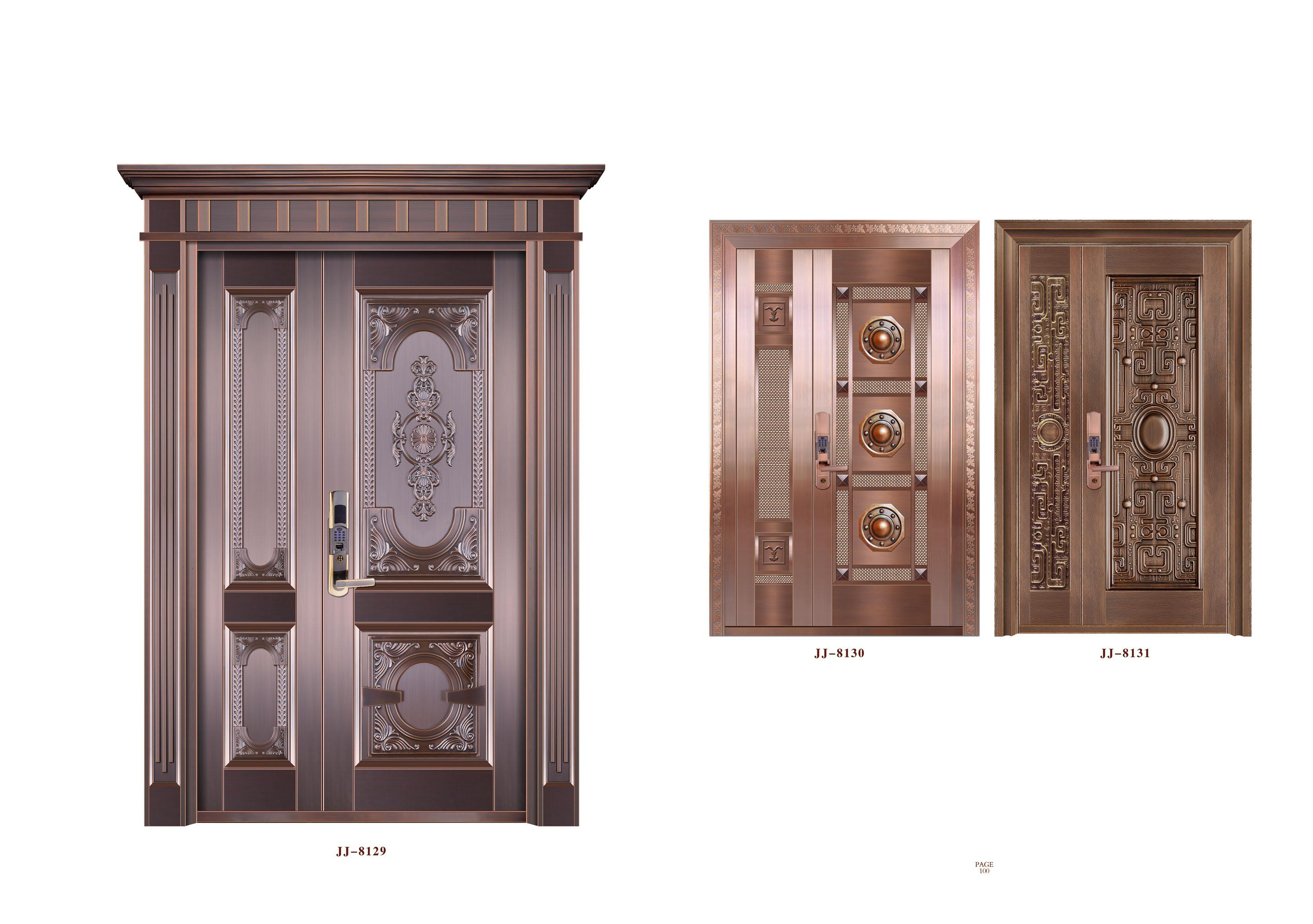 酒店大门 家装门 庭院门 铜门工程