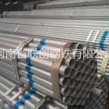 河南镀锌管实力厂家 国标焊接镀锌铁管批发 热镀锌管加工及配送