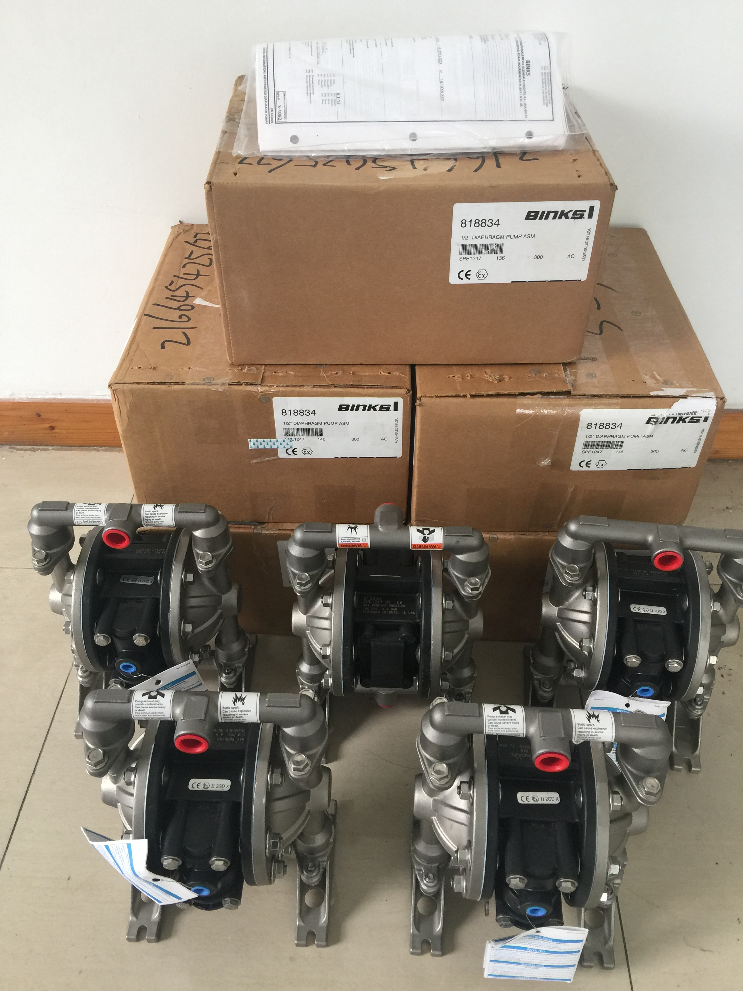 美国binks喷枪泵浦压力桶BINKS压力罐BINKS818822泵
