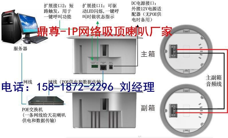 十大品牌IP网络吸顶喇叭厂家  IP网络吸顶喇叭报价 IP网络有源喇叭报价