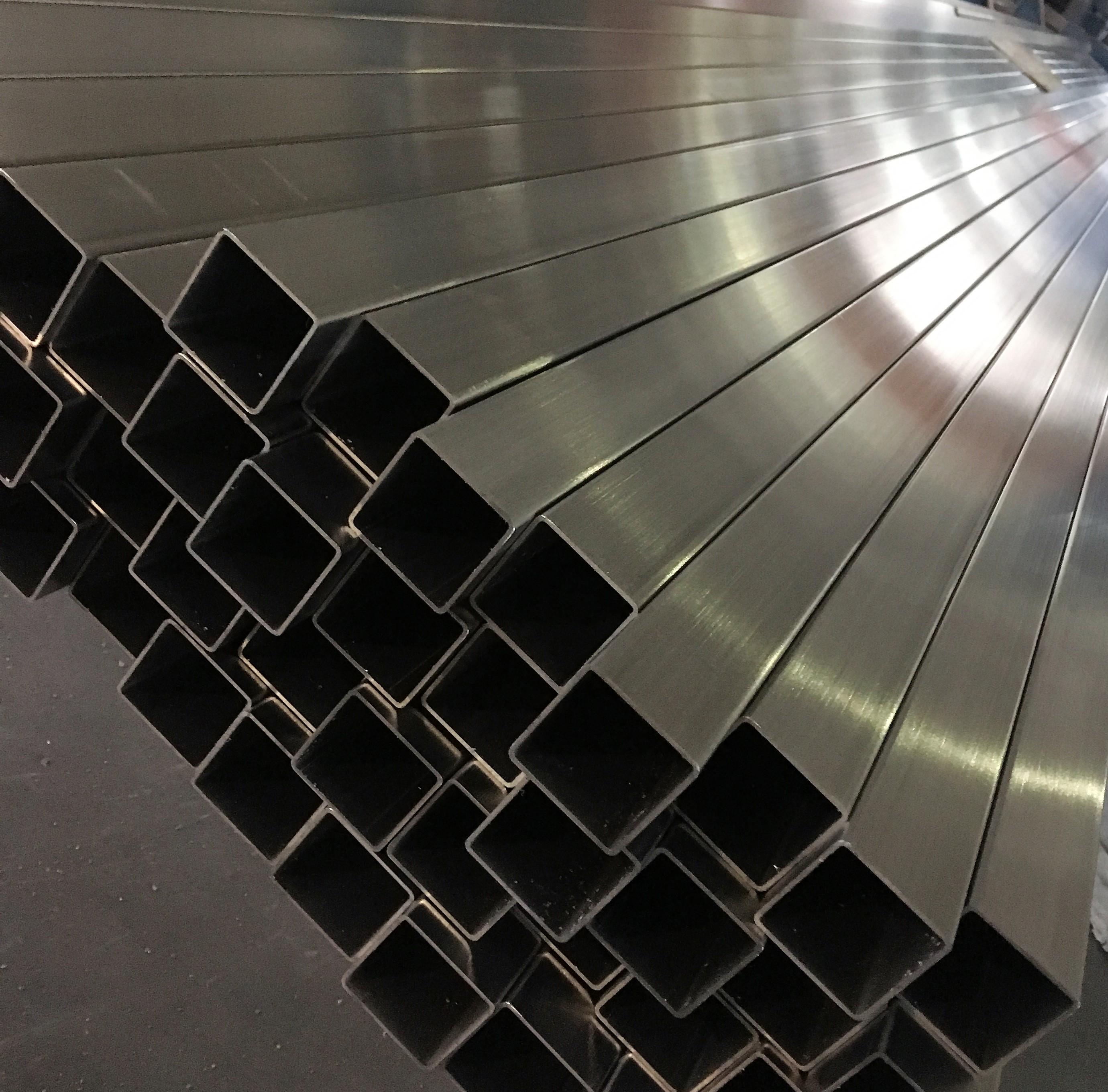 201 304 316不锈钢管抛光管镜面管无缝管焊管装饰管矩形 方管 201304 316不锈钢管