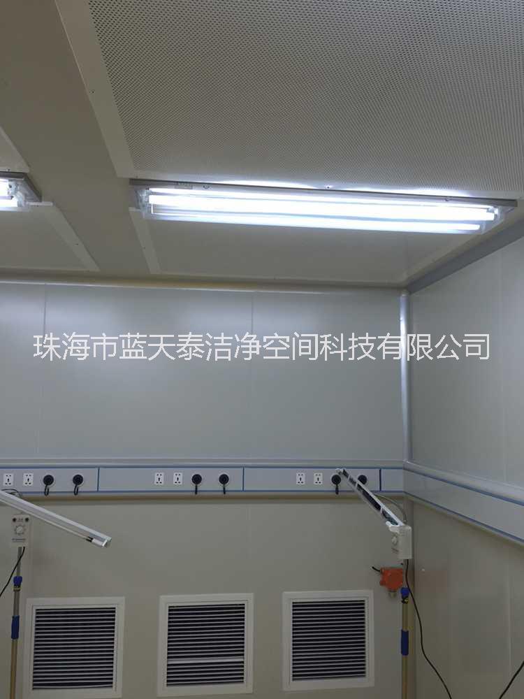 彩钢板安装工程珠海中山江门彩钢板安装工净化厂房装修洁净空调工程