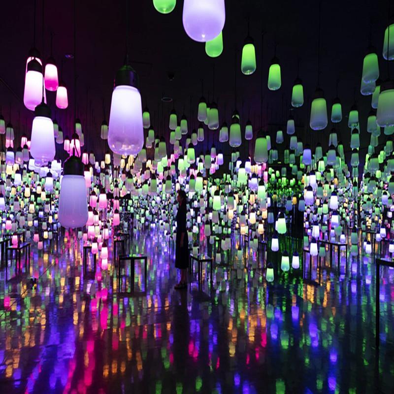 呼吸灯森林呼吸灯音乐控制共振 呼吸灯森林呼吸灯音乐感应灯