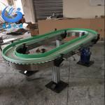 广州链板输送机 台式皮带输送机  智能灯泡旋转台 工厂直销