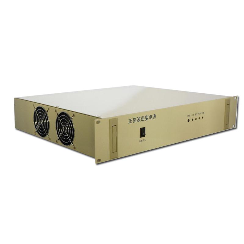 直流屏舰船电力专用2U机架式高频逆变器DC110V/220V转AC220V系统