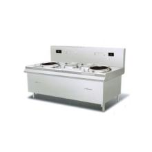 山西饭店厨房设备饭店厨具用品双炒双温电磁灶