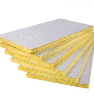 铝箔贴面玻璃棉板图片/铝箔贴面玻璃棉板样板图 (1)