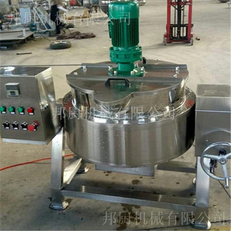 蒸汽加热夹层锅- 山东原装进口夹层锅批发