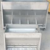 不銹鋼料槽采食槽養殖雙面料槽養殖用食槽系列 不銹鋼料槽采食槽育肥雙面料槽