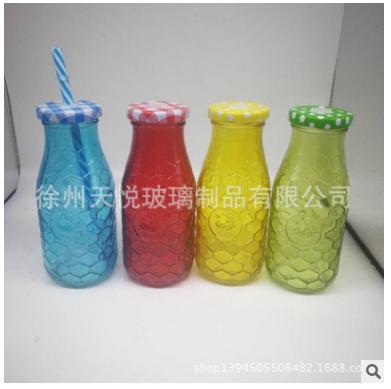 江苏玻璃瓶厂家批发供应果汁玻璃瓶饮料瓶厂家定制量大从优