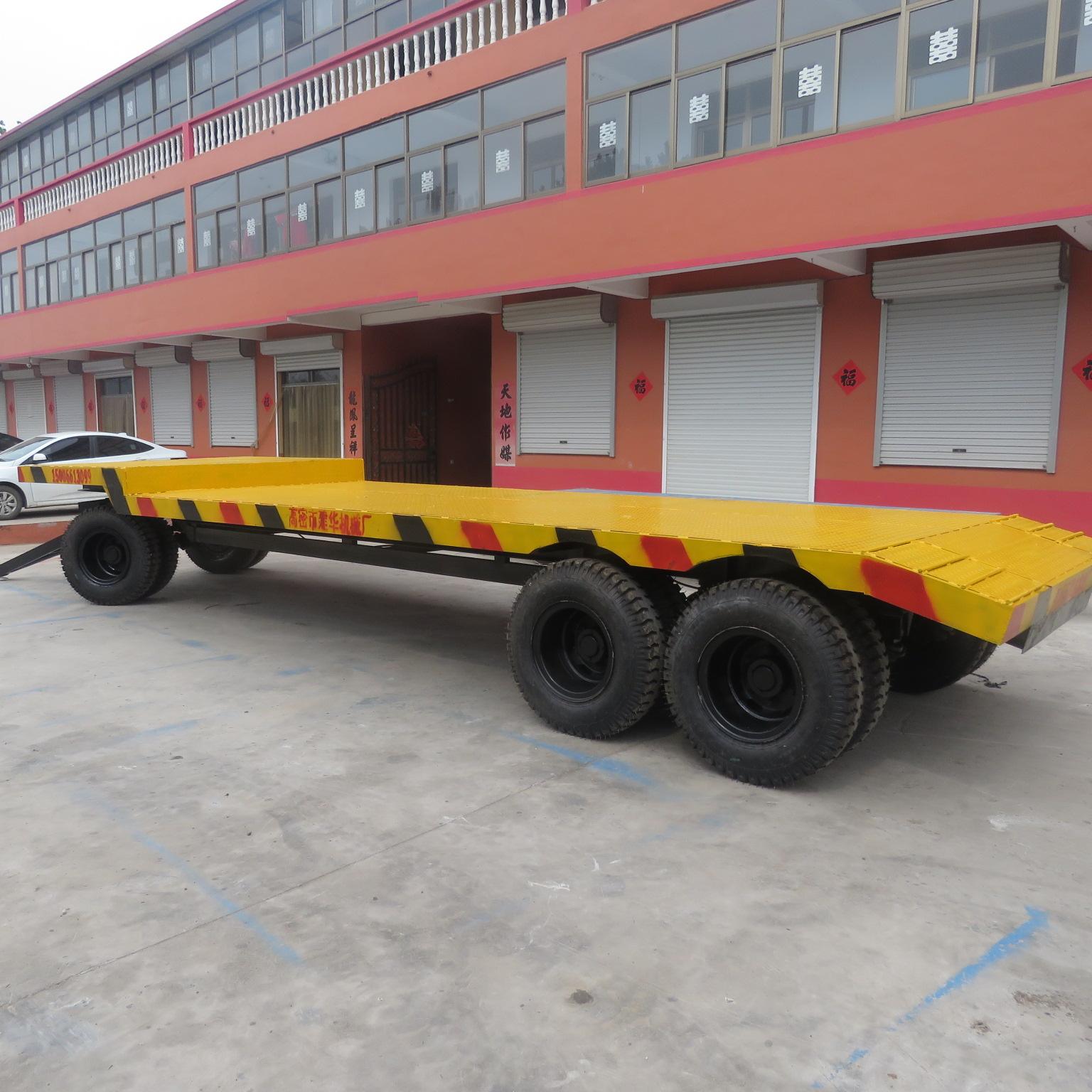 潍坊挖掘机拖车厂家  直销高地板拖车  挖掘机拖车供应