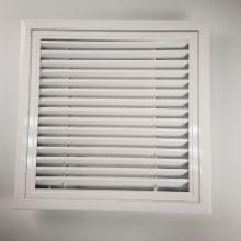 铝合金百叶窗单层百叶出风口 格栅百叶窗 中央空调出风口批发