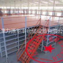 天津重型库房货架阁楼平台货架贯通货架图片