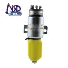 重庆YC135-8挖掘机24V熄火电磁阀819909397HZH批发