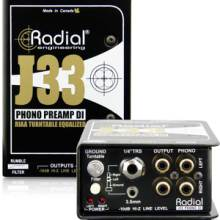 Radial J33 膠木電唱機降噪DI直插盒批發零售 隔離變壓器 消除接地回路的噪聲DI直插盒 吉他DI盒批發