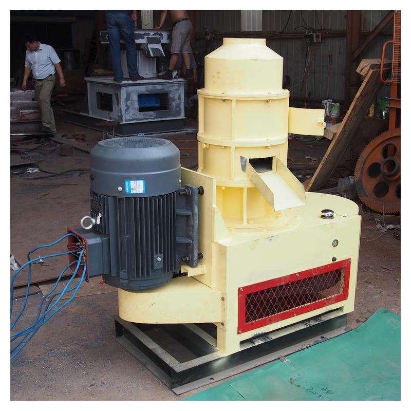 秸秆木屑燃料颗粒机 锅炉燃料颗粒压块机 锯末木屑成型机设备生产线
