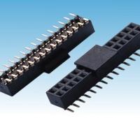 排母 排母带柱2.0间距排母 H=6.35 Y型带柱SMT