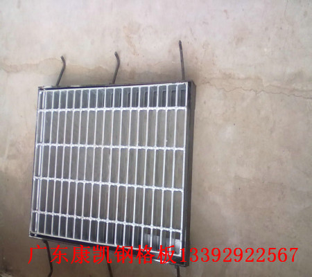 镀锌钢格栅盖板 钢格板图片/镀锌钢格栅盖板 钢格板样板图 (4)