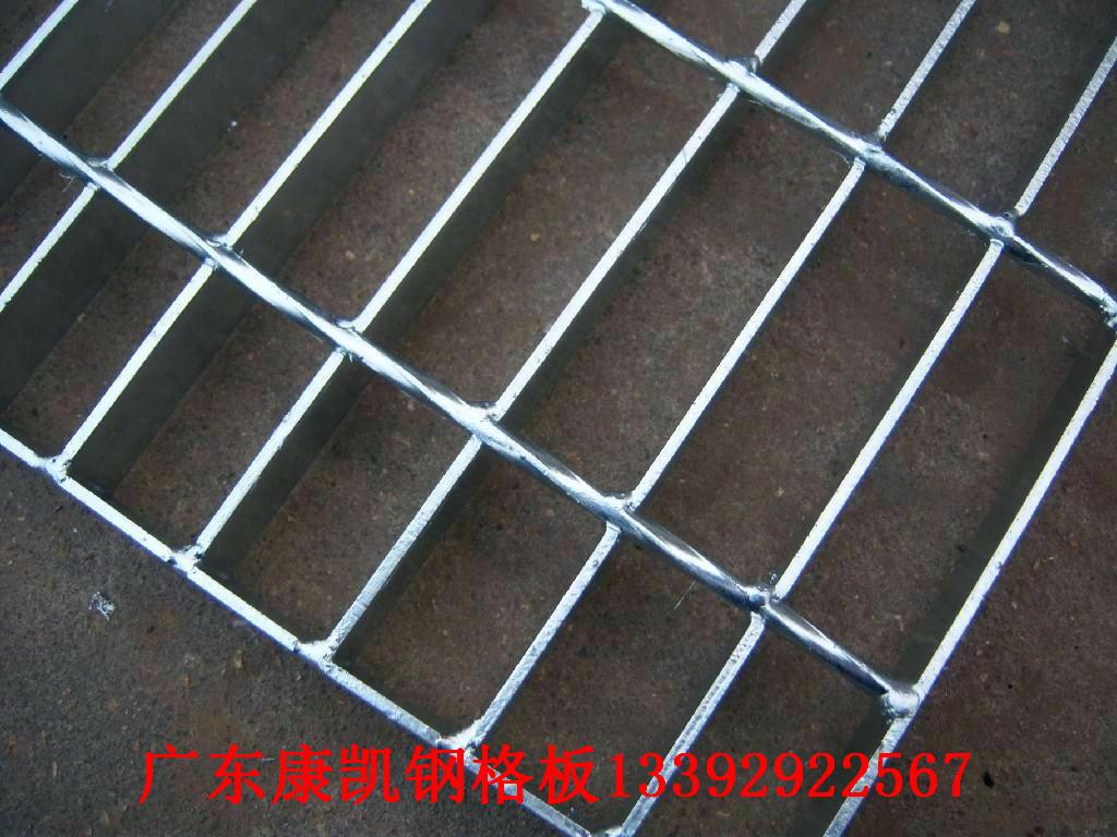 镀锌钢格栅盖板 钢格板图片/镀锌钢格栅盖板 钢格板样板图 (2)