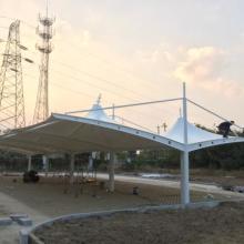 江苏膜结构 停车棚工程 充电桩停车棚工程  体育看台景观棚   浙江停车棚工程