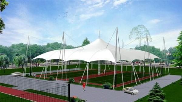 江苏公园景观蓬 镇江活动推拉蓬 徐州膜结构停车棚厂家报价