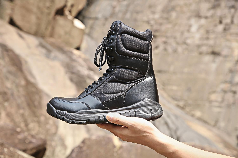 江苏作战靴生产厂家直销现货作战靴靴东方狼高帮作战靴