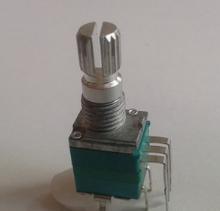 厂家生产097开关电位器 7脚立式电位器开关 故事机开关电位器批发