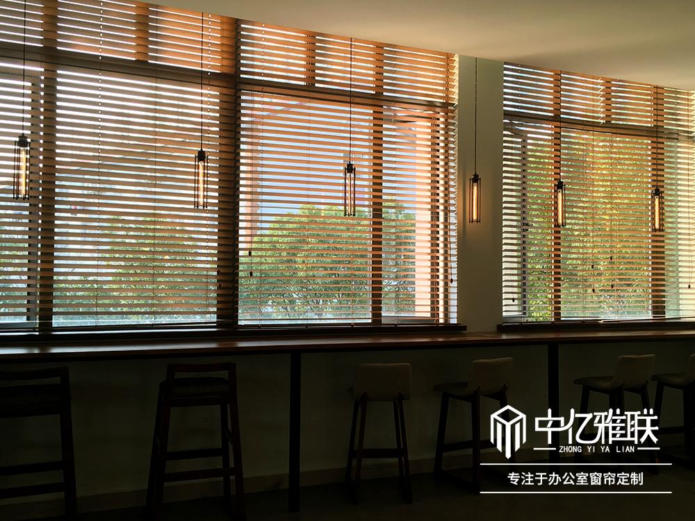 电动铝合金百叶窗帘客厅办公室遮光