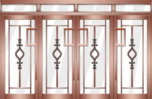 铁仿铜门 厂家直销铁仿铜门 铁仿铜门厂家 品质保证
