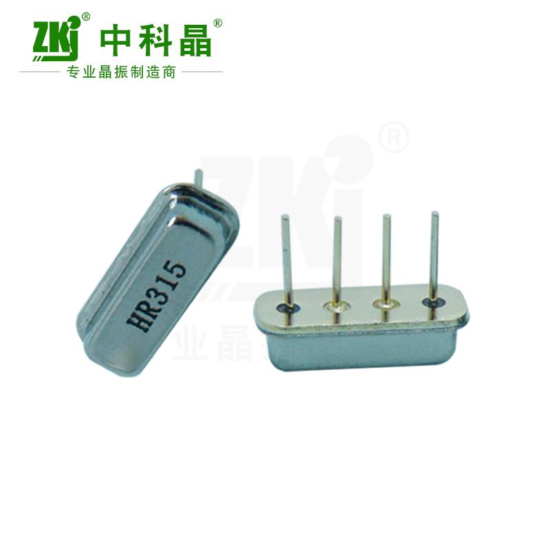 深圳 中科晶 声表谐振器 F11 315M石英晶振 工厂直销