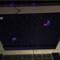 重庆家庭影院光纤灯满天星 光纤星空顶 家庭影定制