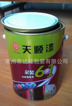 供应5L开口桶 包装桶 涂料桶 油漆桶 化工桶 外观精美