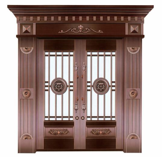 双开铜门 豪宅双开铜门 定制双开铜门 定做双开铜门