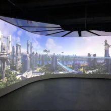 投影融合软件、投影融合通道软件、球型幕融合软件、异形结构投影融合、天幕投影融合软件通道