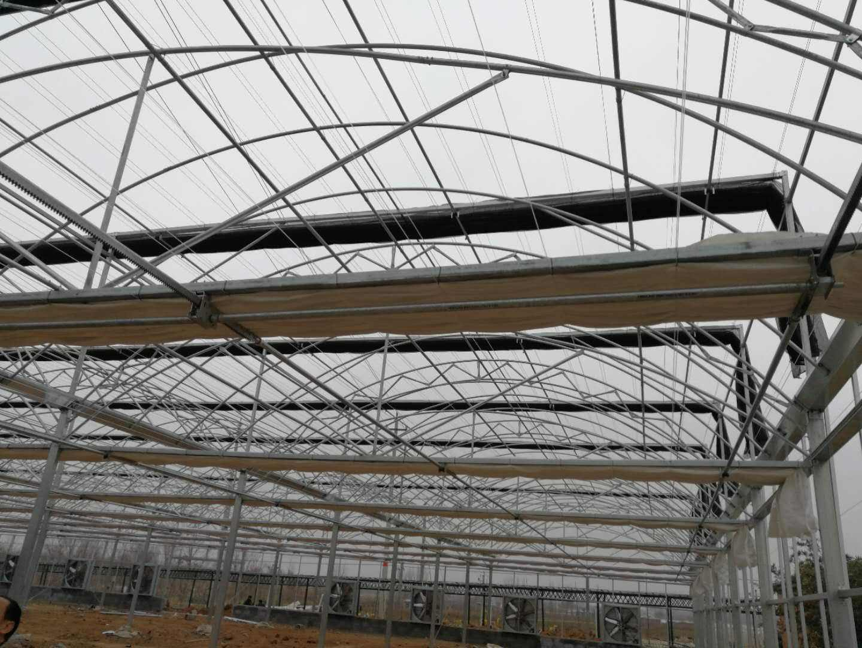 薄膜温室骨架材料生产厂家/薄膜温室主体安装/山东潍坊建达温室公司