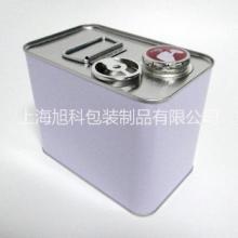 2L方铁罐石化油样罐样品罐2kg化工铁方罐马口铁化工罐溶剂罐图片