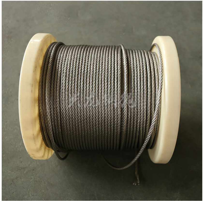 厂家加工定制 1*19不锈钢钢丝绳 镀锌绳 大量供应
