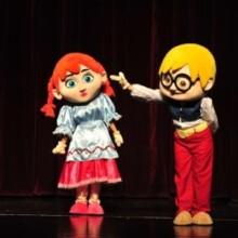 迪士尼卡通儿童剧糖果屋演出