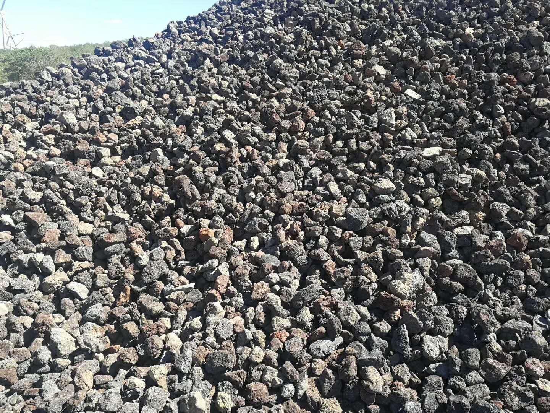 黑色火山石「厂家批发」