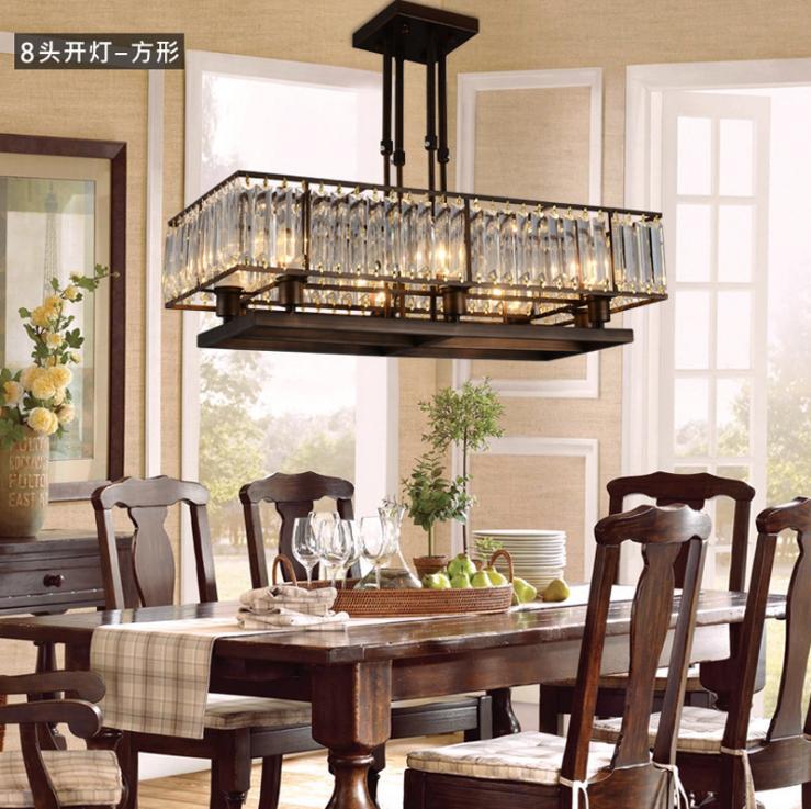 中山客厅吊 灯铁艺金色水晶灯 现代圆形水晶客厅吊灯供应商 客厅灯