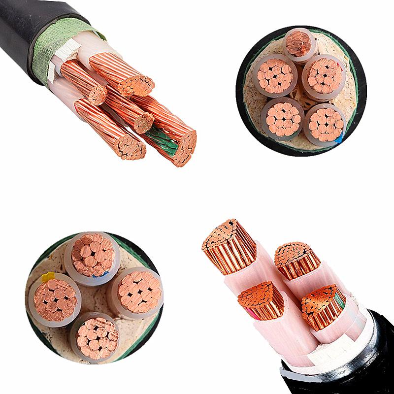 YJV国标5芯三相五线 铜芯金环宇电缆YJV3*2.5/4/6/10/16/25平方国标5芯3+2三相五线