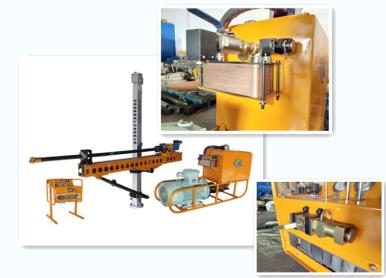 1000液压钻机石家庄墨隆煤矿设备有限公司架柱液压回转探放钻机ZYJ1000
