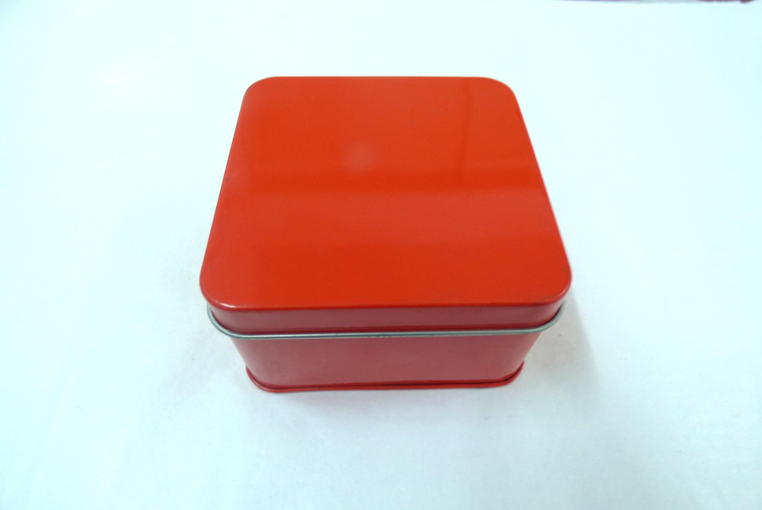 摩配凸轮(方罐)铁盒罐马口铁盒马口铁罐-乐达嘉五金罐业金属包装 惠州乐达嘉铁盒  铁盒