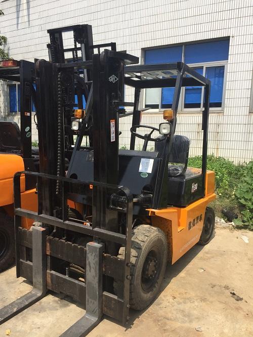 杭州3吨柴油叉车转让 专用出售维修二手叉车