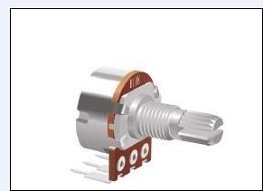 东莞厂家生产148单联弯脚电位器 调音调速调光电位器