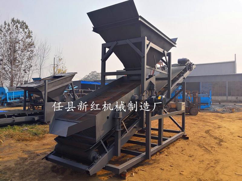 50型震动筛沙机厂家 震动筛沙机价格 大型震动筛沙机 移动式震动筛沙机 新红机械制造