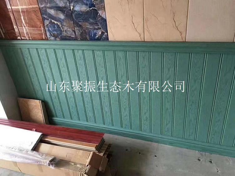 生态木150单面内墙板施工图 生态木150内墙板