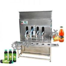江苏半自动液体灌装机 半自动灌装机价格 下潜式液体灌装机厂家图片