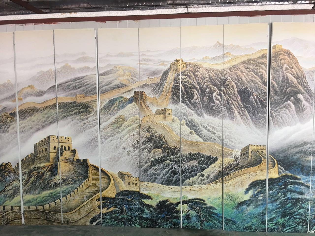 粤鲁湘绿色家装建材集成墙板